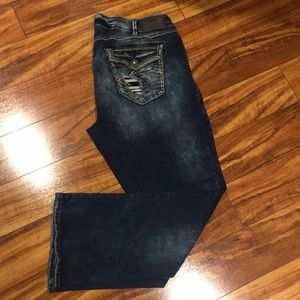 Silver Jeans Elyse Mid Bootcut Jeans